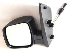 Peugeot Bipper Van 2008-> Cable Wing Door Mirror Black Cover Passenger Side N/S