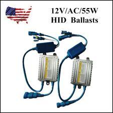 US 2x Slim HID Digital Ballast Replacement Quick Start Fast 55W 12V waterproof