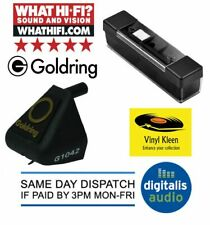 GENUINE GOLDRING D42 REPLACEMENT STYLUS FOR 1040 1042 FREE RECORD+STYLUS BRUSH
