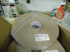 2 rolls 3M 373L MICROFINISHING FILM 15Mic 1.772 (45mm) x 1200ft roll