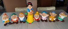 snow white seven dwarves vintage 50s Walt Disney productions Japan bank lot set