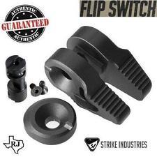 Strike Industries FLIP SWITCH Ambi Safety Ambidextrous 60 90 degree + Cap BLACK