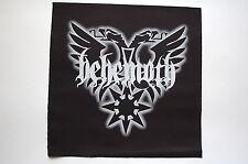 Behemoth Black Patch (BP125) Black Metal Rock Dissection Venom Hellhammer