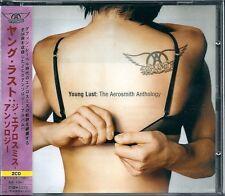 Aerosmith young Lust: The Aerosmith Anthology Japan CD w/obi UICY-1092/3