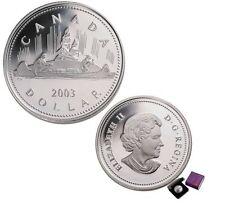 2003 Canada Special Edition Coronation Proof Silver Dollar Coin - No tax