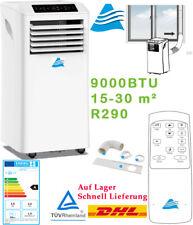 Klimaanlage mobile 9000 BTU Klimageräte 2,6kW EEK A Ventilator Klima R290