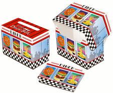 DECK BOX PORTA MAZZO Orizzontale Diner MTG MAGIC Ultra Pro
