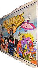 GOLDORAK ! tres rare magnifique affiche 4x3 8 panneaux 1979 toei animation