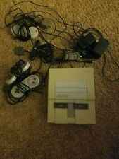 SNES Lot w/ System and Rare Games Swat Kats, Yoshi's island, Mario World ETC