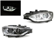 *DEPO 12-15 BMW F30/F31 U Ring LED Angel Eyes Halo Ring Projector Headlight Pair