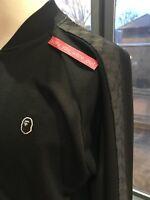 A Bathing Ape Bape Bucci Gucci-style Tracksuit Top Jacket Size M Black Medium