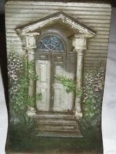 ANTIQUE BRADLEY HUBBARD CAST IRON ARCH COLUMN CORBEL DOOR ART WINDOW BOOKENDS