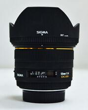 Sigma EX 50mm f/1.4 HSM EX DG Lens for Nikon