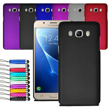 For Samsung Galaxy J5 2016 Slim Hard Shell Case Back Cover + Stylus