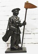 Vintage Figura De Hierro Fundido De Fuego Chimenea Companion Set golfista [PL3842]