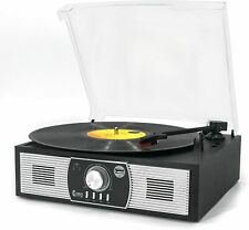 Record Players,Turntable 3-Speed Bluetooth 5.0 Record Player Built In Speakers