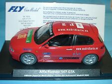 vzcd) FLY E741 96046 ALFA ROMEO 147 GTA LIMITED EDITION 2004 - slot 1:32 scale