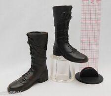 1/6 Sideshow Figure Van Helsing Vampire Monster slayer Dark brown tall boots set