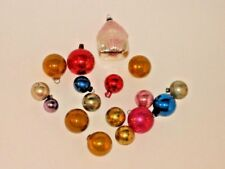 Figural Antique Japan Feather Tree House Christmas Ornament Decoration 1950's