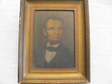 Oil Painting Advertising of Lincoln For Lincoln Watches.