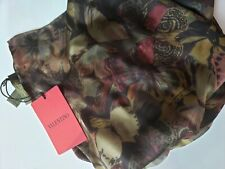 Valentino 100% Silk Made in Italy shawl, Scarf, NWT