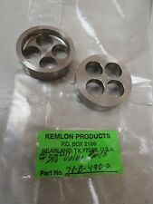 LOT OF 2 NEW KEMLON PRODUCTS STAINLESS S/S VALVE PORT 21-B-490-2 21B4902
