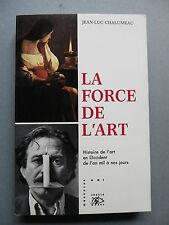 Jean-Luc CHALUMEAU, LA FORCE DE L'ART, 1993, peinture beaux arts
