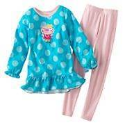 NWT Girls Carter's Winter Fleece Pajamas Pjs NEW 2 2T