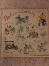 Reduced Price..Bahama Lullaby 1957 Island Artist Record Goombay Delia Gone