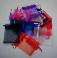 3 3x4 Organza Jewelry Bags