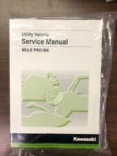 "Kawasaki Mule Pro-Mxâ""?Service Manual - Fits 2019 & 2020 - Genuine Kawasaki - New (Fits: Kawasaki)"