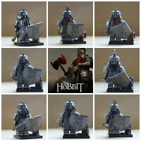 Lord Of The Rings Toy Models Hobbit 8 Mini Figures Dwarves Dwarf Dain Thorin