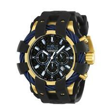 Invicta Bolt 23862 Men's Round Analog Chronograph Date Black Silicone Watch