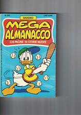 1988 06 - MEGA ALMANACCO WALT DISNEY - 06 1988 - N.378