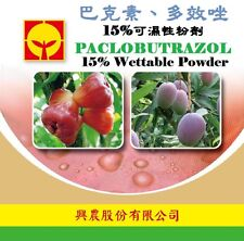 Paclobutrazol PBZ 15% 10g wettable powder works the same as chlormequat chloride