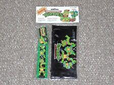 1989 EMG TMNT Ninja Turtles School Kit Pencil Case Set Brand New Canadian