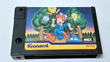 Pippols KONAMI MSX MSX2 Action Game cartridge only tested -a330-