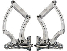 BILLET SPECIALTIES 1955-1956 HOOD HINGES WITH NECESSARY GAS SPRINGS,MACHINED
