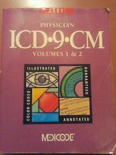 ICD-9-CM Code Book for Physician Compliance Vol 1 &2 (2001, Paperback)