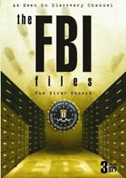 The FBI Files: The First Season (DVD, 2009, 3-Disc Set) *NEW & SEALED*