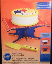 Wilton Cake Stand Kit and Colorful Cake Server