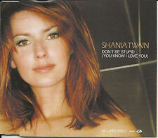 SHANIA TWAIN Don't be Stupid /If you're Not in it for love MIXS& VIDEO CD Single