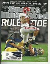 """2013 Sports Illustrated Magazine January 14th PETER KING""""S SUPER BOWL PREDIction"""