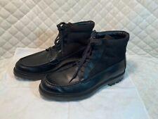 Calvin Klein Schwarz Stiefeletten Schuhe Herren Größe 11 Schnürer Freizeit
