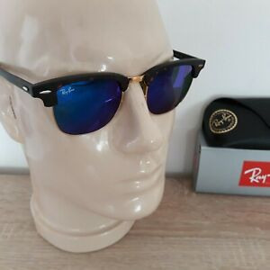 RAY BAN**SONNENBRILLECLUBMASTER RB 3016 / 51-21** KULT - SONNENBRILLE * RB 3016