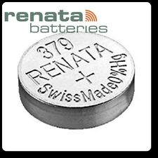 RENATA 379 - SR521SW  1.55V SILVER COIN CELL BATTERIES