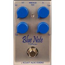 Pedali blu per distorsioni e overdrive di chitarre