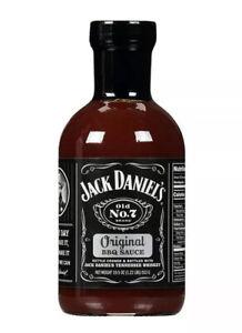 Jack Daniel's Old No.7 Original BBQ Sauce Authentic Preservative Free 19.5 oz
