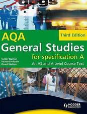 NEW General Studies for AQA A: An AS and A Level Cours