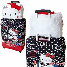 Hello Kitty Shopping Travel Foldable Luggage Bag Carry-On Duffle Bags Set Pink